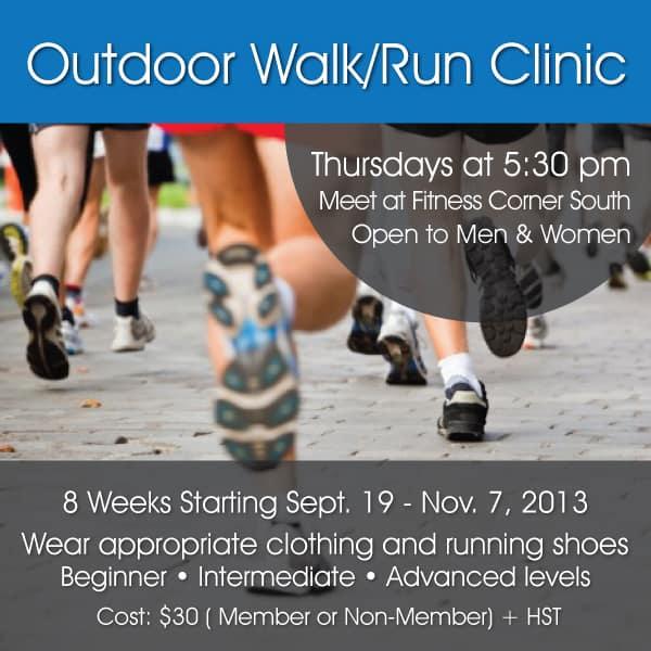 Walk Run Clinic Fitness Corner