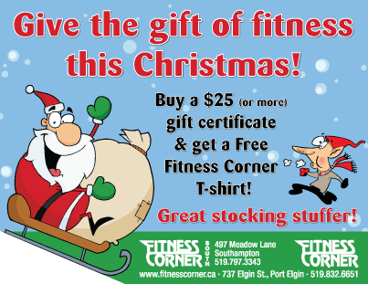 Fitness Corner christmas special