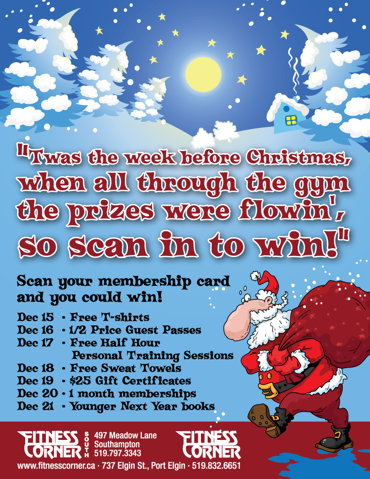 scan in to win fitness corner