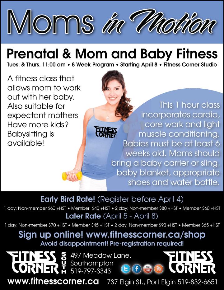 Moms in Motion - Fitness Corner