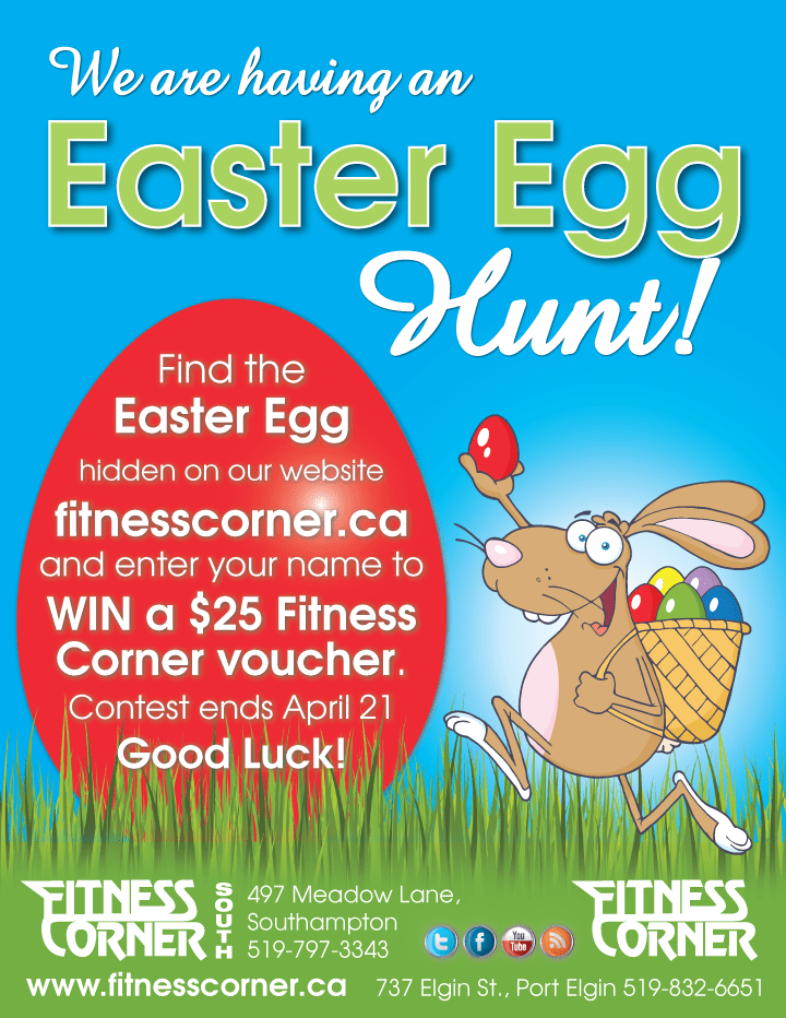 Easter Egg Hunt - Fitness Corner