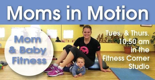 New Session of Moms in Motion Starts Nov. 3!